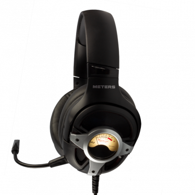 Meters Music LEVEL-UP Black Silver Gaming Headset