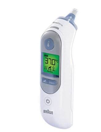 BRAUN IRT6520 ThermoScan 7 Oorthermometer