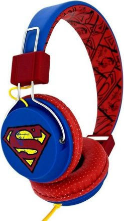 OTL DC0428 Vintage Superman On Ear Koptelefoon