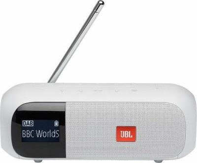 JBL Tuner 2 Wit Bluetooth speaker