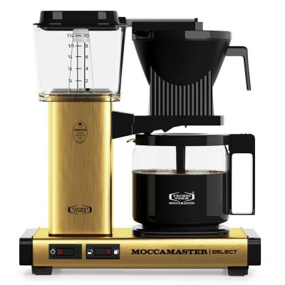Moccamaster KBG Select Brushed Brass Koffiezetter