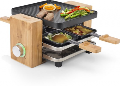 Princess 162900 Bamboe 4-Persoons Raclette