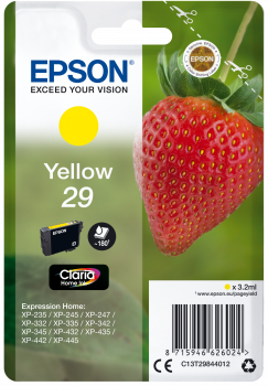 Epson Inktcartridge 29 Yellow