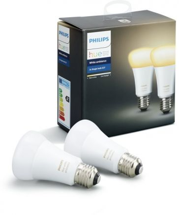 Philips HUE 2x E27 / Duo Pack / Wit 2200 -6500K