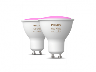Philips Hue White and Color GU10 Duo Pack (Bluetooth)