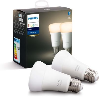 Philips Hue White Ambiance E27 Duo Pack (Bluetooth)